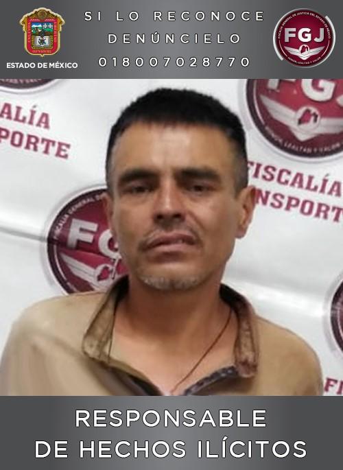SENTENCIAN A 28 AÑOS DE PRISIÓN A UN INDIVIDUO POR ASALTO A TRANSPORTE PÚBLICO EN ECATEPEC