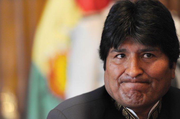 EVO MORALES SERÁ DETENIDO POR TERRORISMO EN BOLIVIA