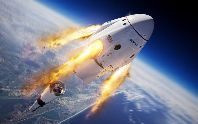 COMPLETA SPACEX ÚLTIMA PRUEBA PARA LANZAMIENTO DE VUELOS TRIPULADOS