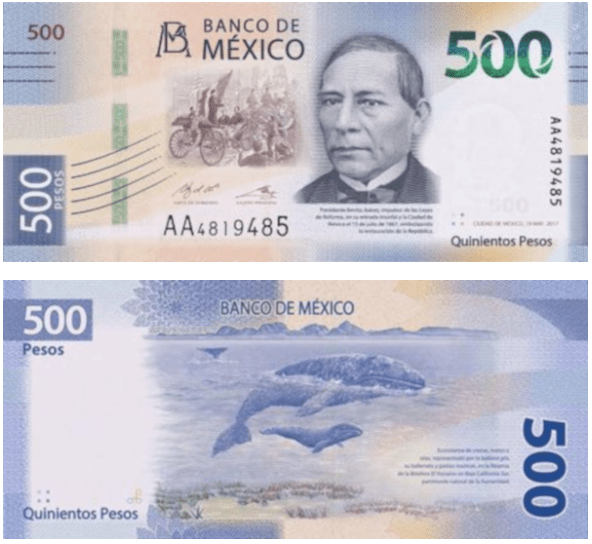 EL BILLETE DE 500 ES CONSIDERADO… ¡EL SEGUNDO MÁS BONITO DEL MUNDO!