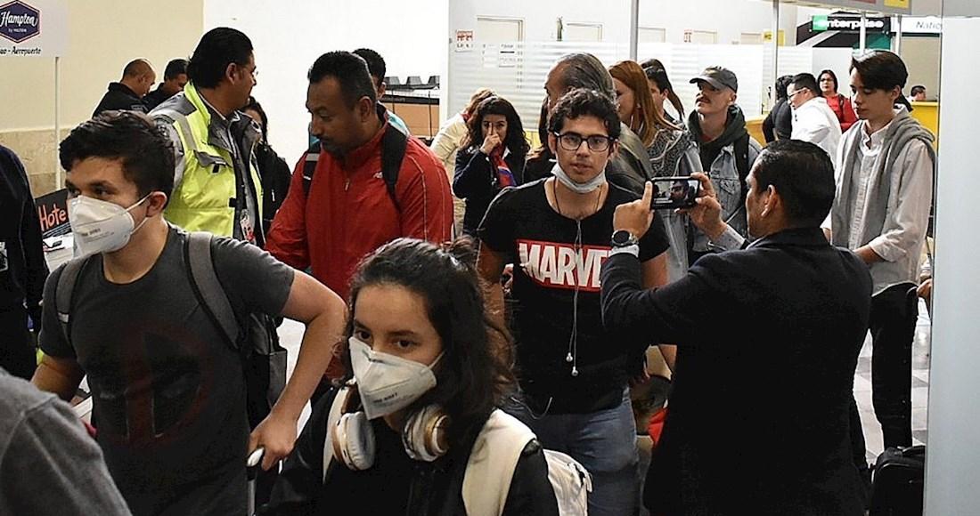 VIGILAN A MEXICANOS QUE ATERRIZARON EN FRANCIA