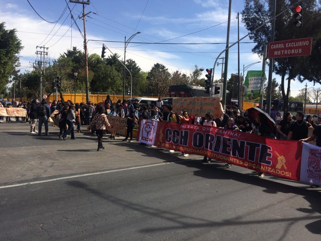 ANUNCIA CCH ORIENTE PARO DE LABORES POR 72 HORAS