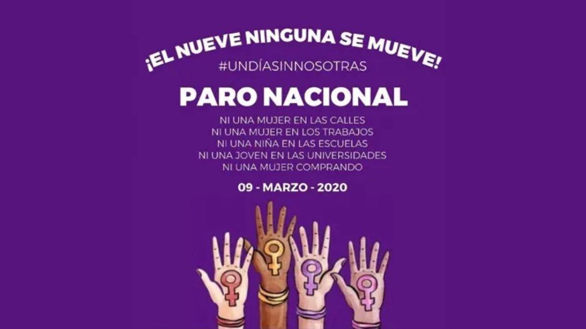 UAEMÉX SE SUMA AL PARO NACIONAL #UNDÍASINNOSOTRAS