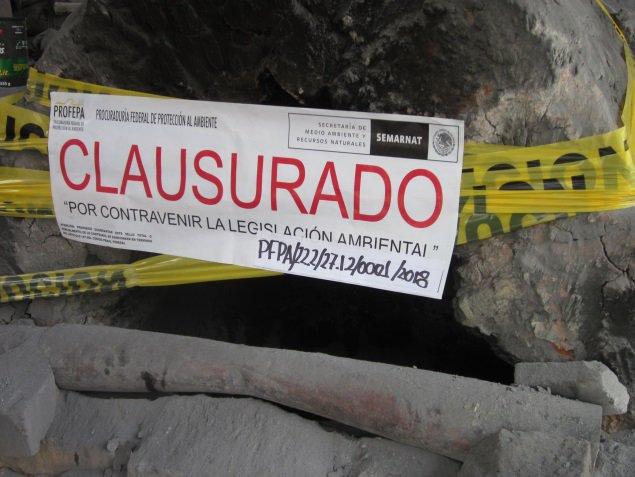 CLAUSURAN EMPRESA DE FABRICACIÓN DE BOLSAS PLÁSTICO POR DAÑOS A MEDIO AMBIENTE