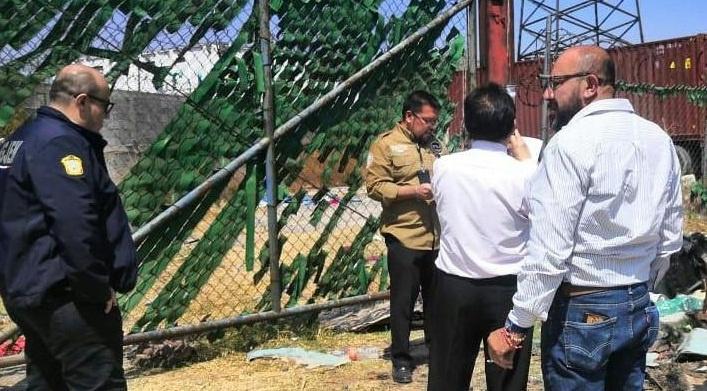 CATEA FISCALÍA ESTATAL UN INMUEBLE EN EL MUNICIPIO DE LA PAZ Y RECUPERA MERCANCÍA ROBADA