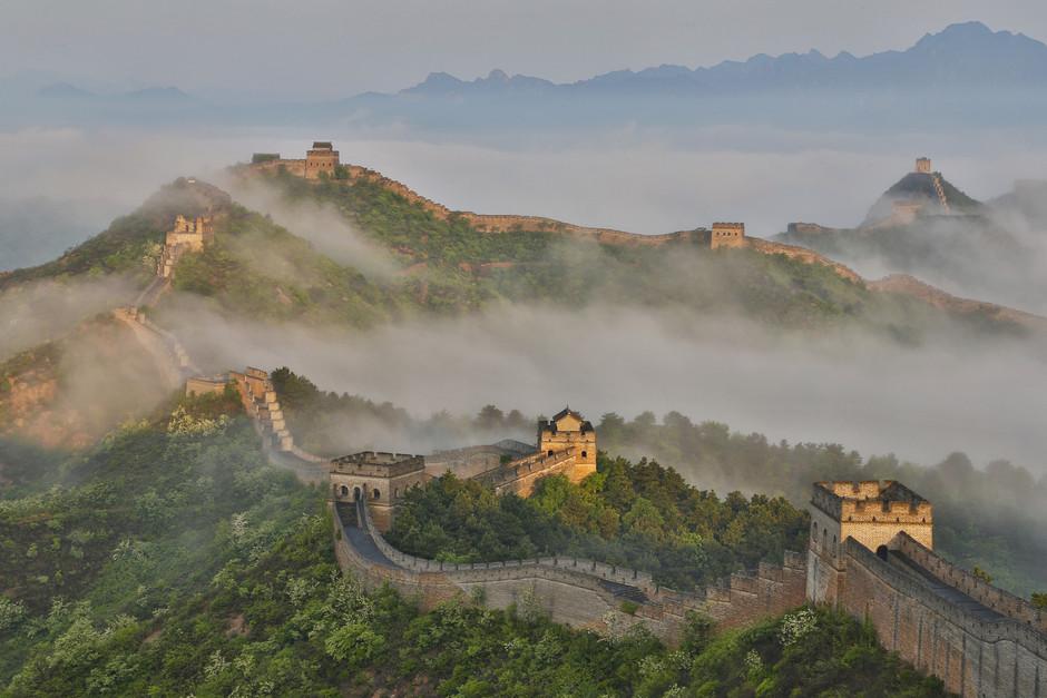 LA GRAN MURALLA DE CHINA REABRE SUS PUERTAS AL PÚBLICO