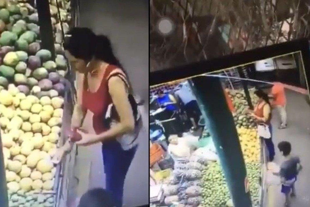 VIDEO: #LADYRATA CAUSA INDIGNACIÓN POR ROBARLE DINERO A UN MENOR