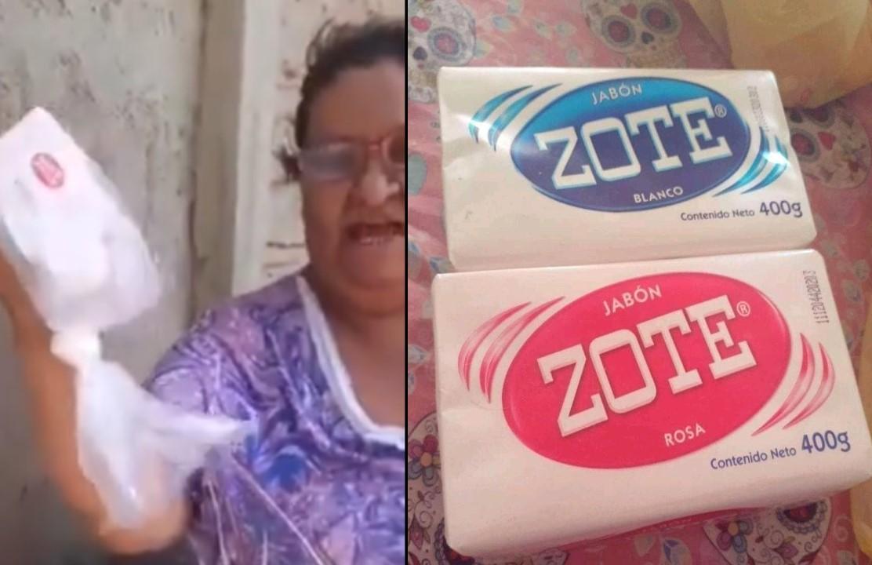 VIDEO: #LADYZOTE ASEGURA QUE EL JABÓN ZOTE ES PARA BAÑAR PERROS