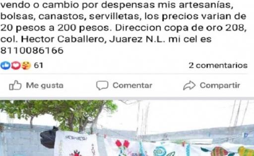 ANTE LA CRISIS POR COVID-19, EL TRUEQUE VUELVE A MÉXICO