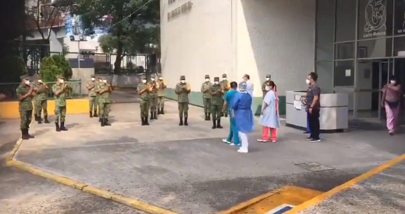 RECONOCE GUARDIA NACIONAL A PERSONAL MÉDICO DEL HOSPITAL GENERAL DE ATIZAPÁN