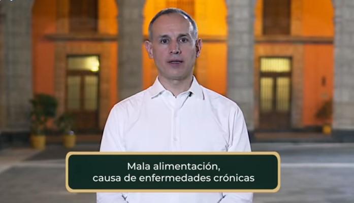 MALA ALIMENTACIÓN, CAUSA DE ENFERMEDADES CRÓNICAS: LÓPEZ-GATELL