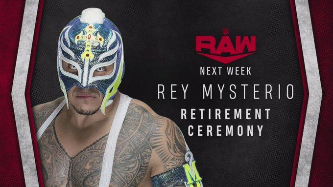 REY MYSTERIO SE RETIRÁ DE LA WWE