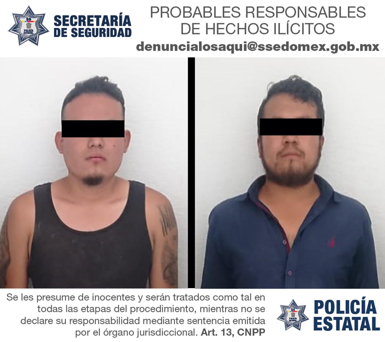 CAEN TRES PRESUNTOS ASALTANTES DE UNA TIENDA DE CONVIVENCIA