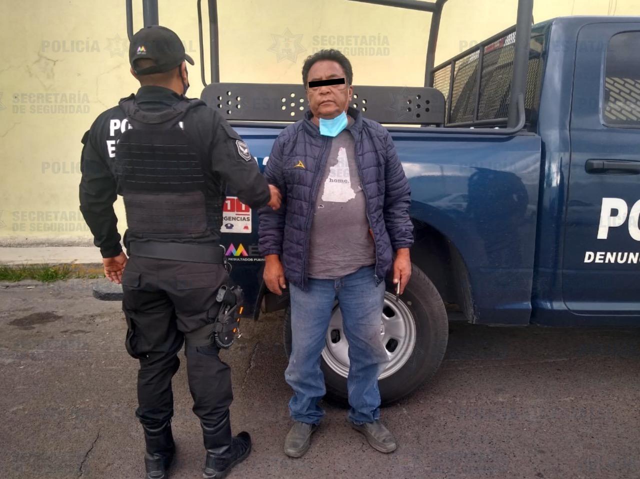 SECRETARÍA DE SEGURIDAD RECUPERA VEHÍCULO CON REPORTE DE ROBO EN METEPEC