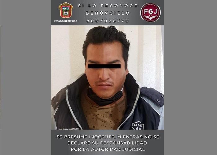 DETIENEN EN ATIZAPÁN A SUJETO INVESTIGADO POR EL HOMICIDIO DE UN HOMBRE