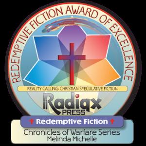 Redemptive Fiction award for Melinda Michelle