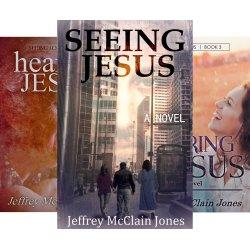 The 3-book Seeing jesus series by Jeffrey McClian Jones