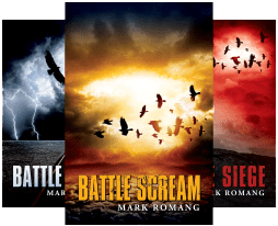 The 4-book Battle Series by Mark Romang