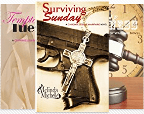 The 8-book Chronicles of Warfare series by Jennifer Conway