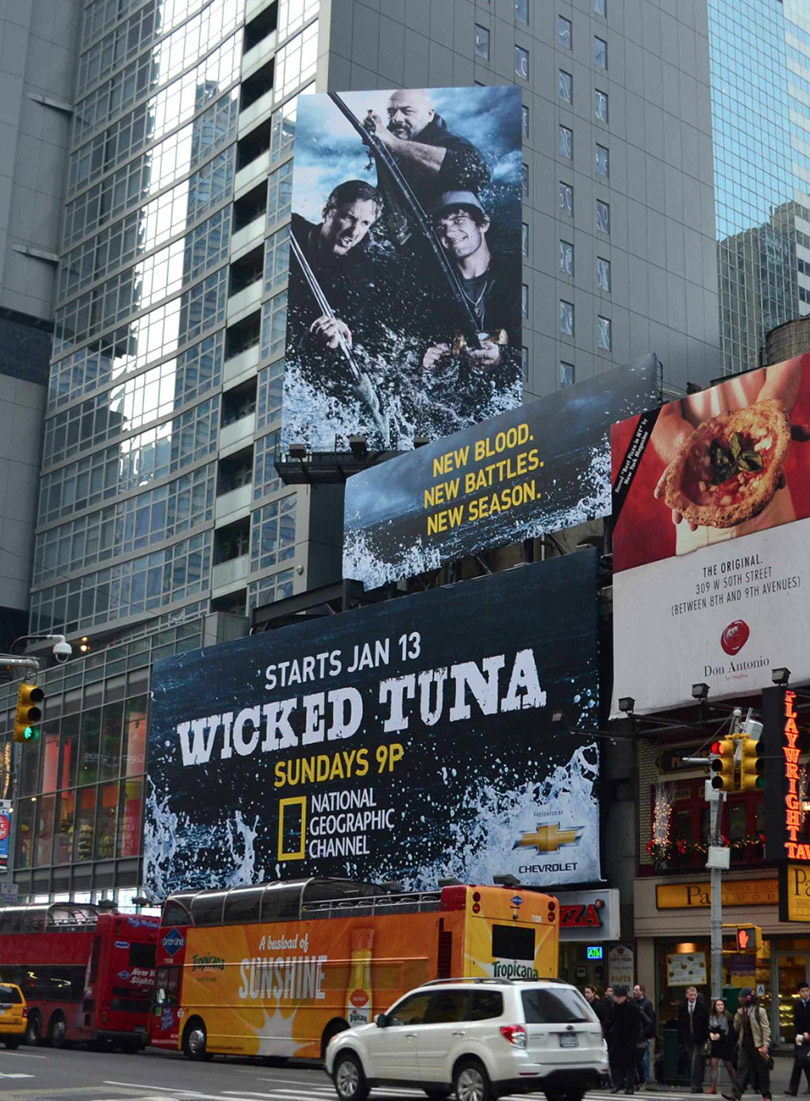Wicked Tuna @ Times Square NYC