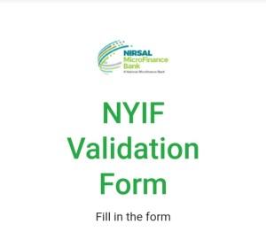 NYIF Revalidation Form