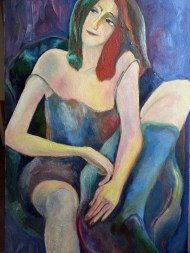 Zuza, Oil on canvas