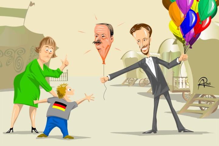 """""""Damit spielt man nicht!""""  -  In der Affäre Böhmermann vs Erdogan mischt sich Bundeskanzlerin Angela Merkel ein."""