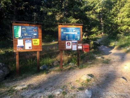 Mill Creek trailhead