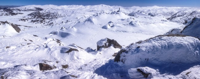 Mt Perisher panorama - Sean Radich