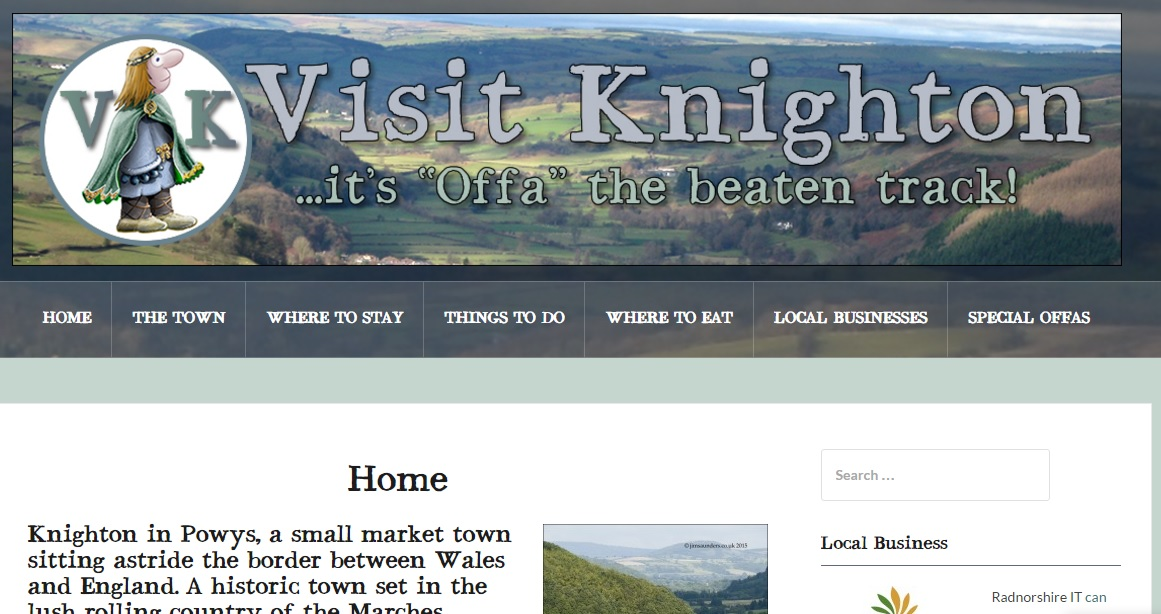 Visit Knighton – Now Live!