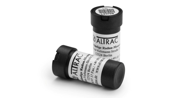 Dosimeter für Radonmessungen