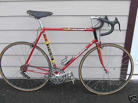 Raleigh Team Pro-531reynolds-mavic-brooks-cinelli