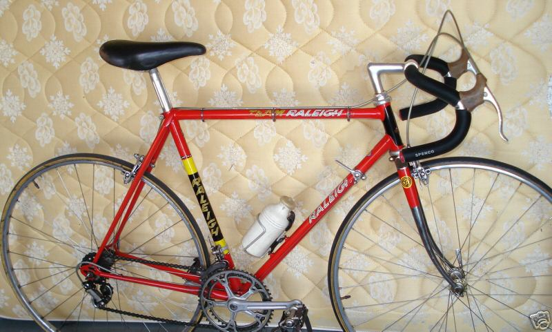 1976 team raleigh super record