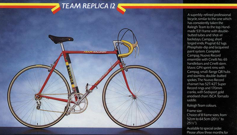 Raleigh team replica 12 1983