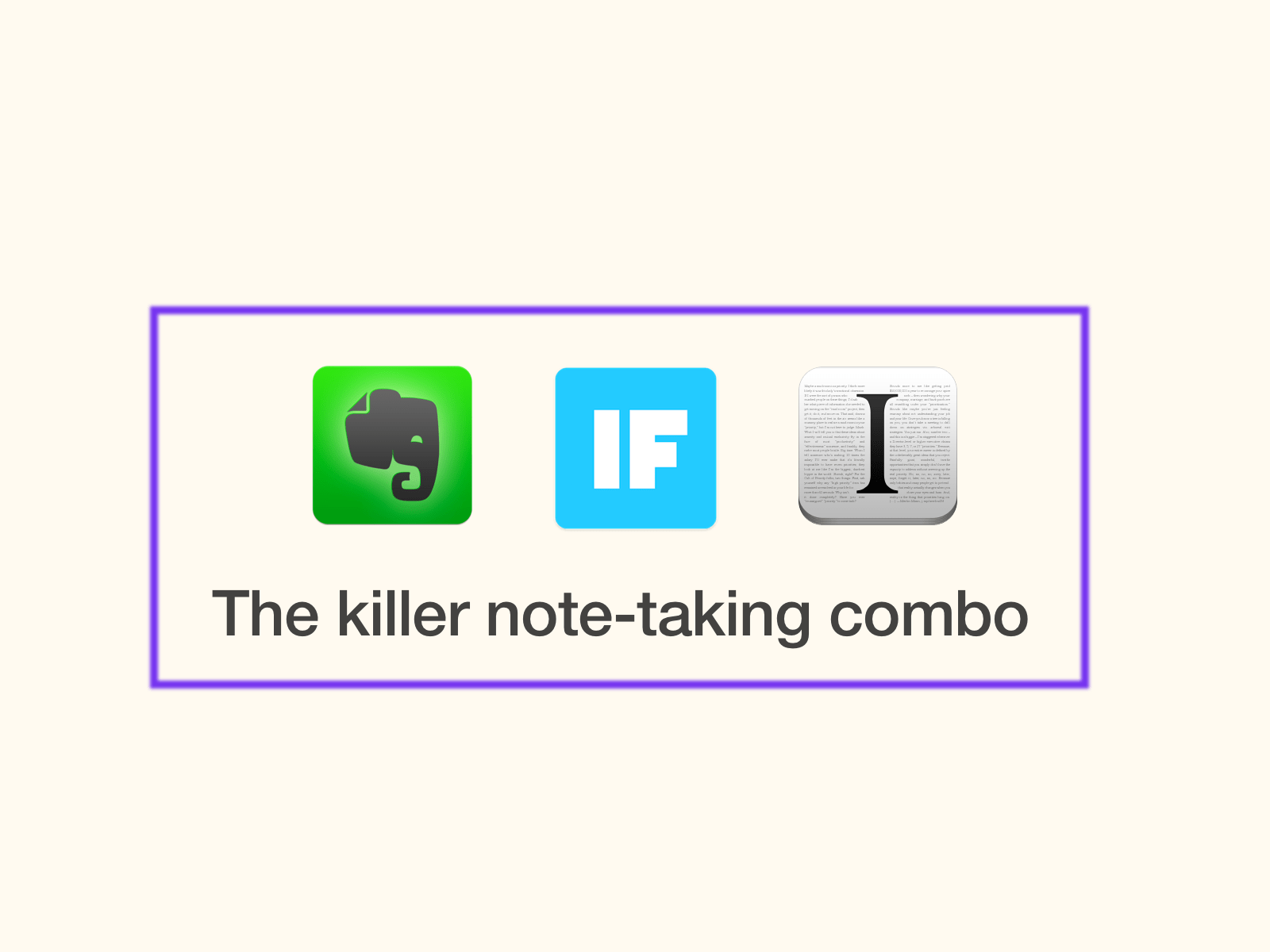 how to take reading notes with instapaper ifttt and evernote