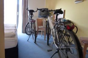 In Halberstadt bekommen auch Fahrräder ein eigenes Zimmer