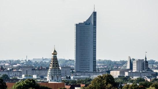 Blick vom Völkerschlachtdenkmal