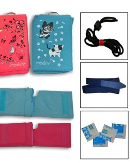 2 Case Girl's Value Pack for Insulin Pumps