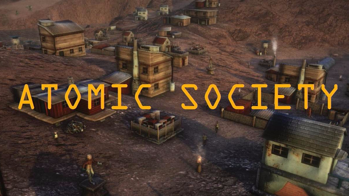 On The Radar Atomic Society A Post Apocalyptic Town