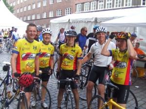 Unser Team bei den Hamburger Cyclassics