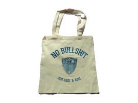 """Boppin'B Baumwolltasche """"No Bullshit"""" natural"""