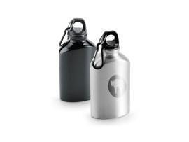 Alu Trinkflasche mit Karabiner