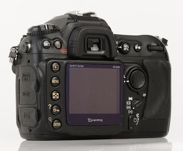 Nikon D200 back 1