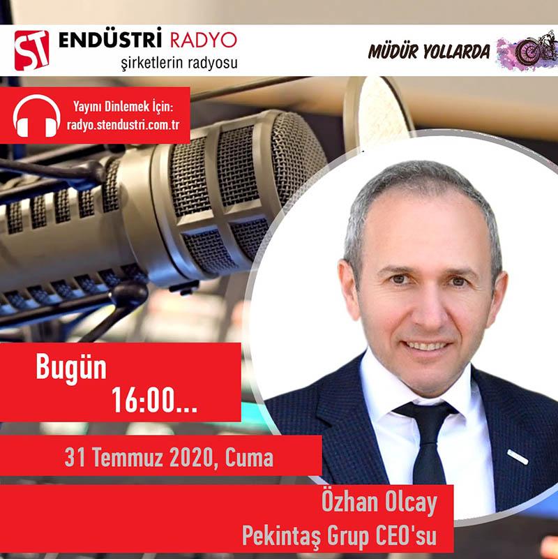Pekintaş Grup CEO'su Özhan Olcay: Binalarda Enerji Verimliliği