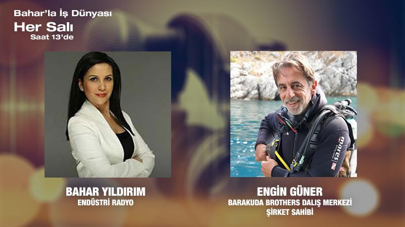 Barakuda Brothers Dalış Merkezi Şirket Sahibi Engin Güner: Denizaltının Keşfedilmemiş Dünyası