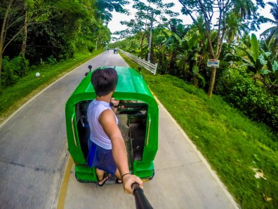 motorcycle ride around Siargao Island