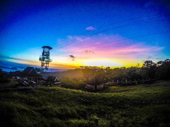 sunset at Picnic Grove, Tagaytay