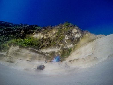 Kapurpurawan Rock Formations, Burgos, Ilocos Norte