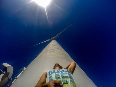 upclose of Ilocos' famous Bangui Wind Farm, Ilocos Norte
