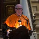 Acto de ingreso del Premio Nobel Finn Kydland